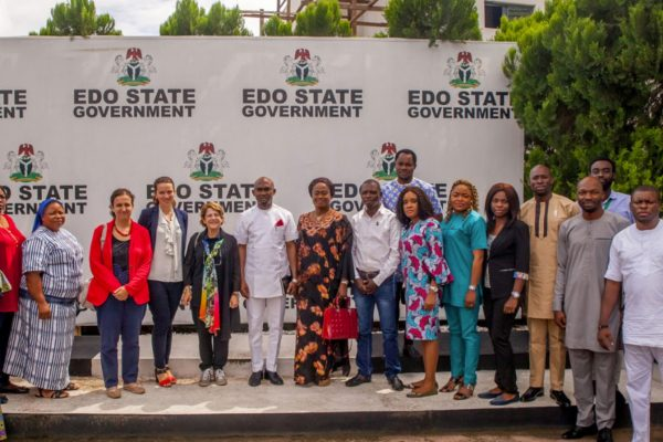 Chief of Staff to Edo State Government House, host Special UN rapporteur in Government House